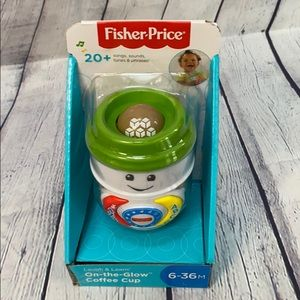🆕 Fisher-Price glow coffee cup (6-36 months)